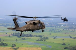 helicopter, chopper, military [Image by Pexels from Pixabay]