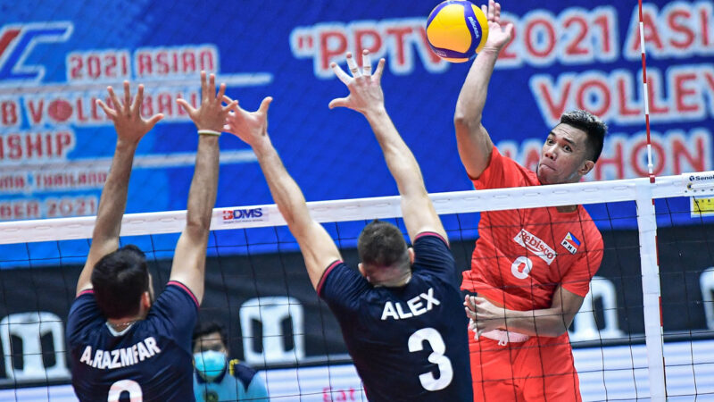 AVC: PH spikers show grit against Iranians before losing steam