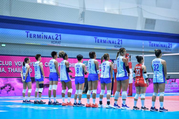 Team Philippines Choco Mucho [Photo: Asian Volleyball Confederation / Eddy Phongphakthana]