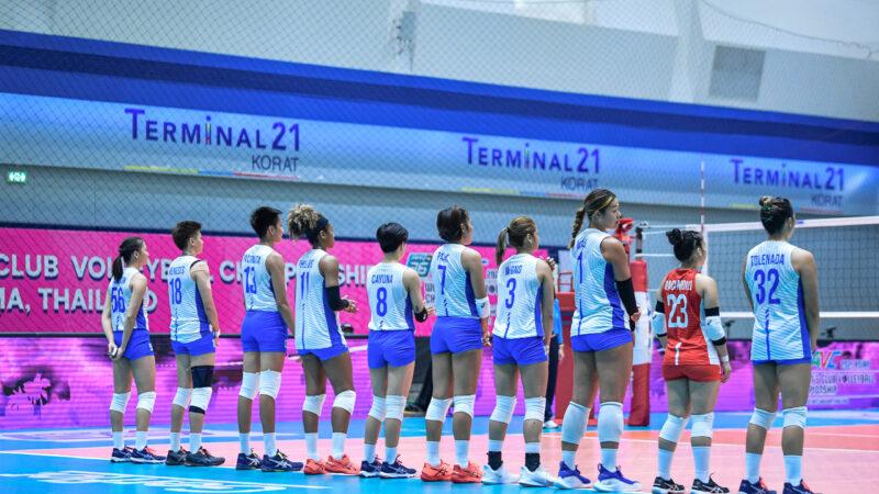 AVC: PH volleybelles meet in a test of progress in Thailand