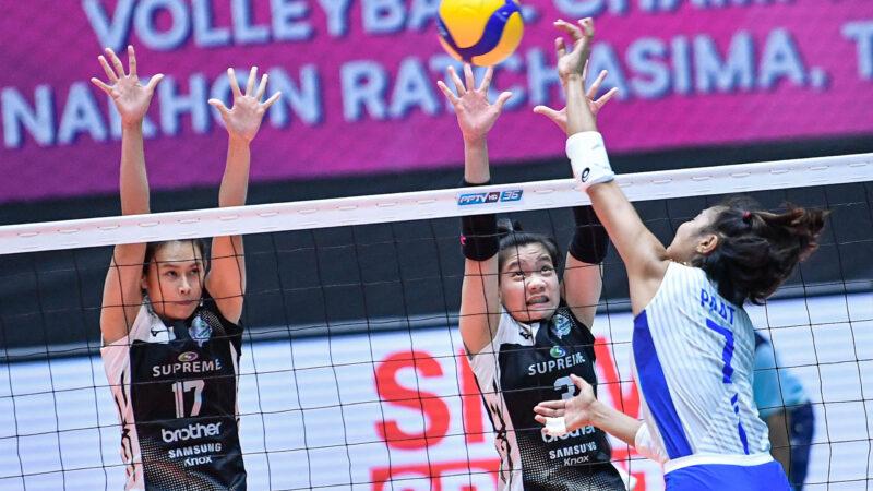 AVC: Despite valiant effort, PH spikers bow to Supreme Chonburi