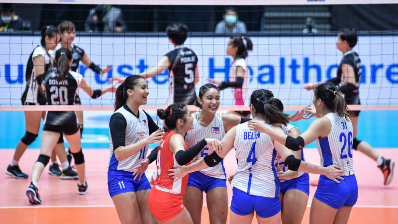 Santiago-Manabat efforts not enough to push PH volleybelles against Thai team at Asian Women's Club Volley tourney