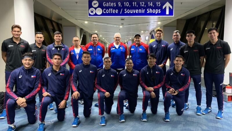 AVC: PH Men's team off to Thailand for Asian Men's Club Volleyball tourney