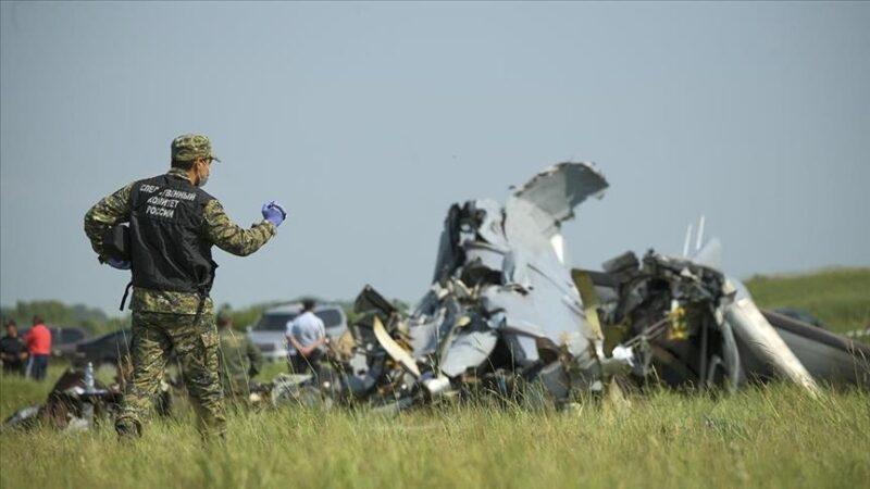 Plane crashes in Russia's Tatarstan, 16 killed